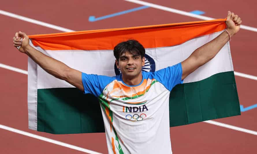 Indian Neeraj Chopra Gold Medalist